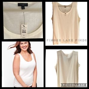 Shell by Talbots, 2X